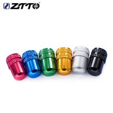 цена на ZTTO Bicycle Schrader Valve Cap for MTB Road Bike American Tyre Inner Tube  Tire  Dustproof Cover Bicicleta Bicycle part