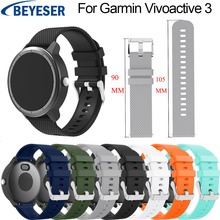 цена на Silicone Band For Garmin Vivoactive 3 Watch Band Strap Bracelet For Garmin Vivoactive 645 Wirst Strap For Garmin Vivoactive3