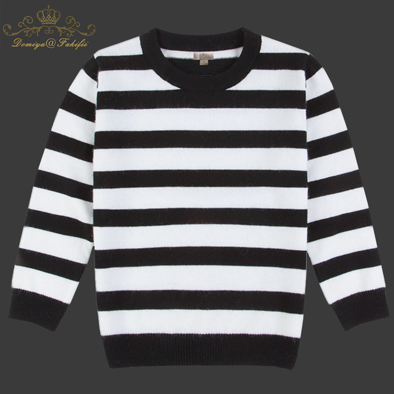 2018 Fashion Baby Children Clothing Boys Girls Striped Knitted Cashmere Cardigan Rabbit Fur Sweater Kid Spring Autumn Outerwear t100 children sweater winter wool girl child cartoon thick knitted girls cardigan warm sweater long sleeve toddler cardigan