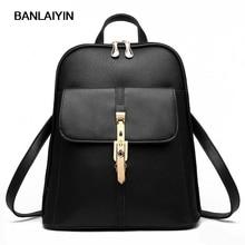 Хороший voguepu кожа женщины рюкзак повседневные школьные сумки для подростков девочек высокое качество женские элегантные туристические рюкзаки