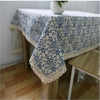 UBRUSH Modern tablecloth Cotton And Linen Table Cover 140*140 cm Waterproof Oilproof For Home Hotel Tablecloth Table Cover