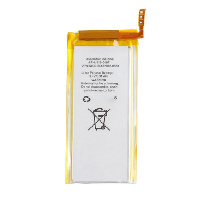 Brand New 3.7V Li-ion Battery Replacement for iPod Nano 5 5th Gen with Tools