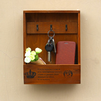 Handmade Wooden Boxes Cargo Organizer Storage Box Simple Small Key Hanging Storage Holder Phone Organizer  Wood Shelf Wood Rack|wooden rack|storage holder|wooden shelf -