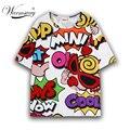 Imprimir Novelty T shirt Moda Femenina Harajuku Camisetas Lindas Kawaii Tee Casual Tops Para Las Mujeres de Manga Corta de Verano Superior TS-008