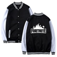 Fortnite Jackets Women/men Fashion Baseball Jacket Autumn And Fashion Coats Male Casual Stand Collar Bomber Jersey