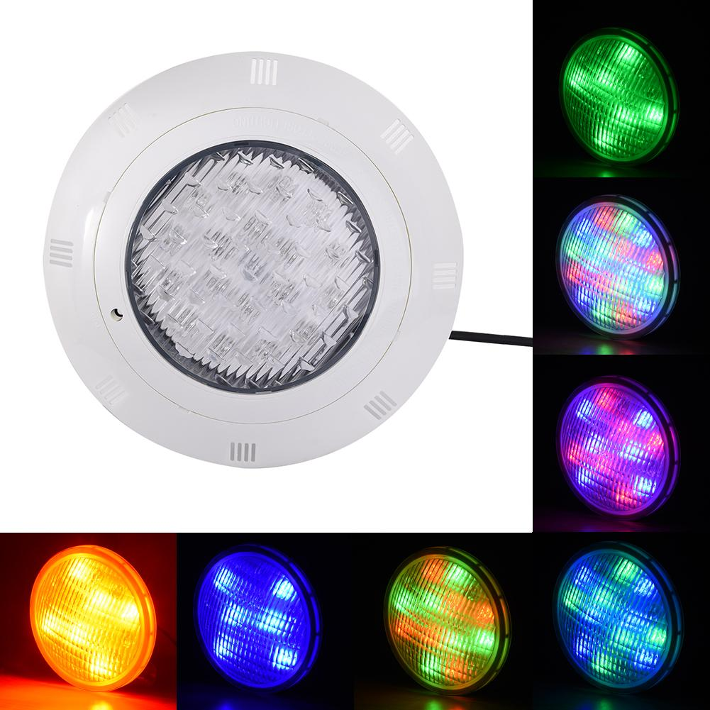 5pcs rgb dmx underwater smaller wall mounted led pool lights piscina for pools and spas dmx512 controller power supply dc24v LED Swimming Pool Light Wall-mounted Underwater RGB Light AC 12V IP68 Underwater Light with Remote Controll Pond Lights Lamp