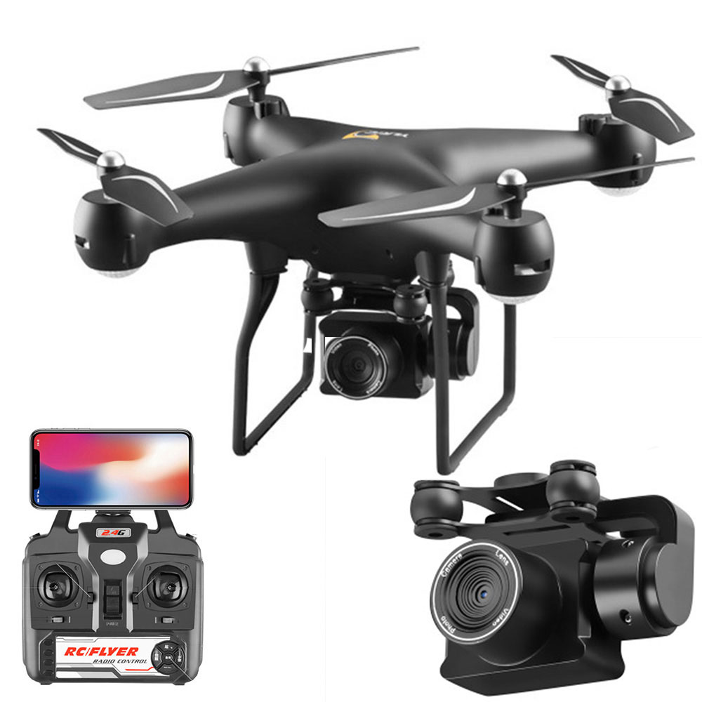 Drone 4K S32T rotating camera quadcopter HD aerial photography air pressure hover a key landing flight 20 minutes RC helicopter Yamaha XSR900
