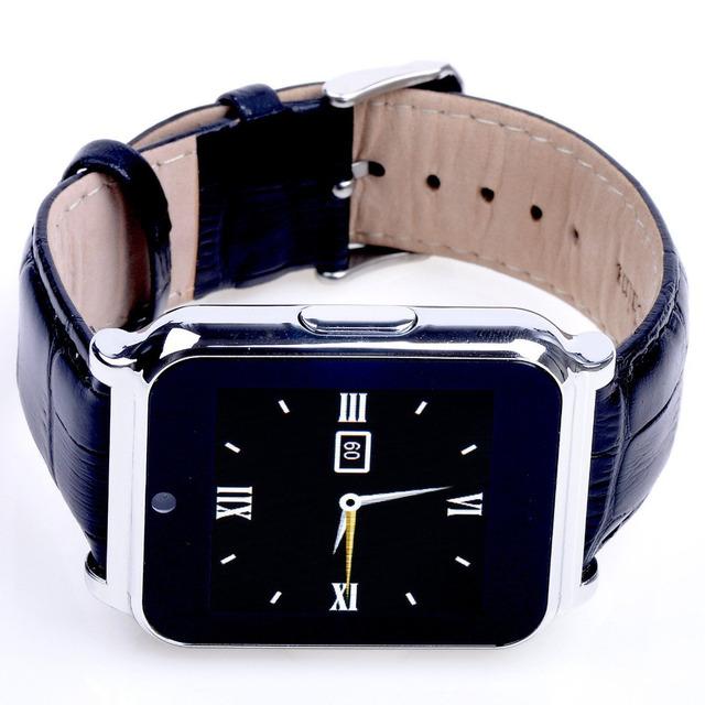 W90 bluetooth smart watch smartwatch relógio de pulso dos homens de negócios de couro de luxo cavaleiro vista full hd tela para android ios telefone