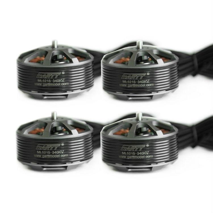 4PCS GARTT ML 5215 340KV Brushless Motor For Multicopter Quadcopter Hexacopter RC Drone 6pcs gartt ml 4108 500kv brushless motor for mult irotor quadcopter hexacopter rc drone