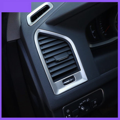 Stainless Steel Upper Air Vent Condition Outlet Cover Trim For Volvo XC60