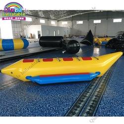 4 persona di Volo towables per gli sport acquatici, a buon mercato gonfiabile barca di banana del tubo per la vendita