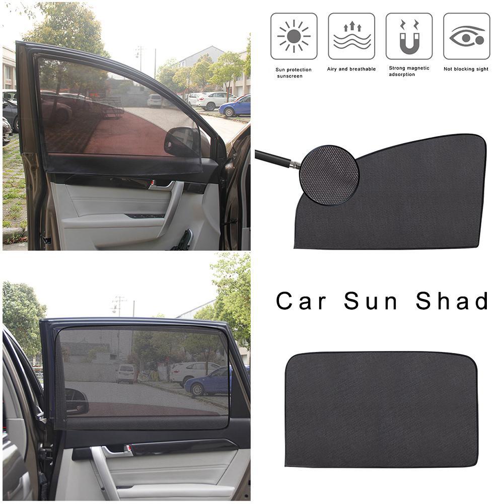 BLACKOUT CAR WINDOW SUN PROTECTOR STICK ON SUN SHADE FOR A CAR CHILDREN