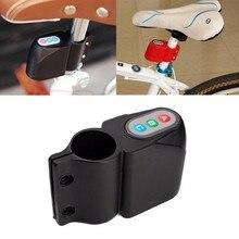 bicicleta de alarma de seguridad antirrobo estilo abc contrasea equipos accesorios empaquetado al por menor negrorojo