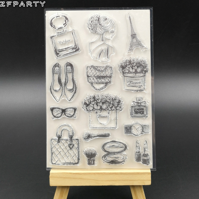 Baby Clear Silicone Rubber Seal Stamp For DIY Album Scrapbooking Photo Card