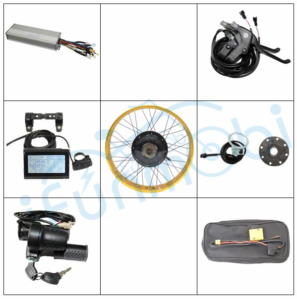 Ebike Kit 36V 48V 500W Fat Tire Rear Wheel Electric bicycle Conversion Kit 9MOSFET 25A Controller 20-26 With LCD3 Display PAS фонтан фен шуй с подсветкой 3 1036617