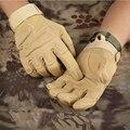 Entrenamiento de Combate del ejército Guantes Tácticos Hombres Policía Militar Soldado Deporte Caza Paintball Guantes Llenos Del Dedo Al Aire Libre Guantes de La Bicicleta