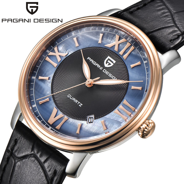 e55b1e0ae2e Pagani Design de Moda Mulheres Relógios de Quartzo Das Senhoras do Relógio  Vestido De Couro Relógio