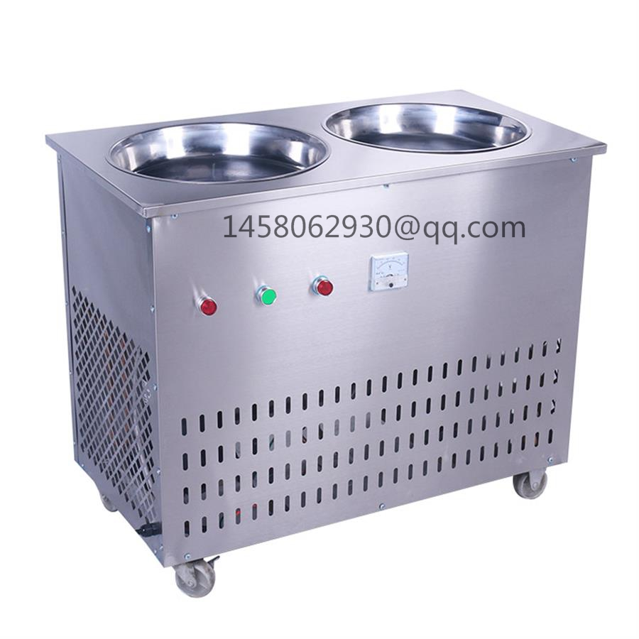 China  commercial fried ice cream rolling machine for sale  Fried Roll Ice Cream Machine/Flat Pan Fry Ice Cream Machine commercial fry ice cream machine fried ice cream machine ice cream roll machine
