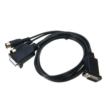 New Arrivals 1.8m MIDI To Joystick Game Port Audio Cable DB15 5 Pin DIN Wire Cord Electronic keyboard Cable Mayitr