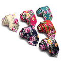 New 6CM Width British Style Neck Tie Fashion Floral Ties For Men Wedding Party Skinny Tie Business Costume Accessories T1511610