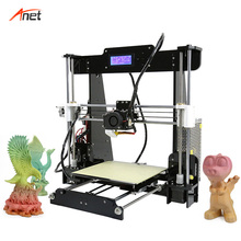 Anet A8 Most Ecomonic Open Source Imprimante 3d 220*220*240mm Build Volume 3d Printer Machine AutoLeveling Optional Stampante 3d
