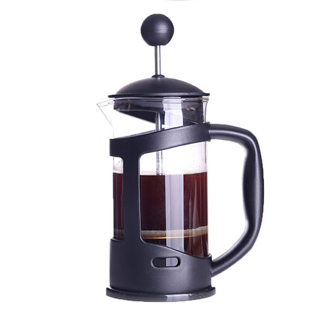 350ml Coffee Maker French Hand Press Cafeteira Espresso Gl Stainless Steel Machine Filter Pot