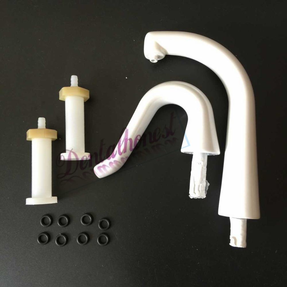1 set Dental Chair Unit Water Pipe Hose Supply Spittoon Cupping Gargle Tube