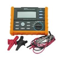 MS5203 insulation resistance meters digital megger meter earth impedance tester megohmmeter digital analog multimeter