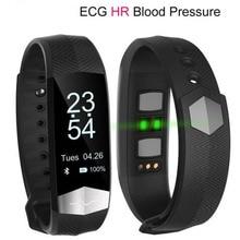 Новый ЭКГ Smart Band CD01 смарт-браслет шагомер ppg сердечный ритм измерять кровяное давление Фитнес браслет вызова SMS PK Xiaomi Mi band 2