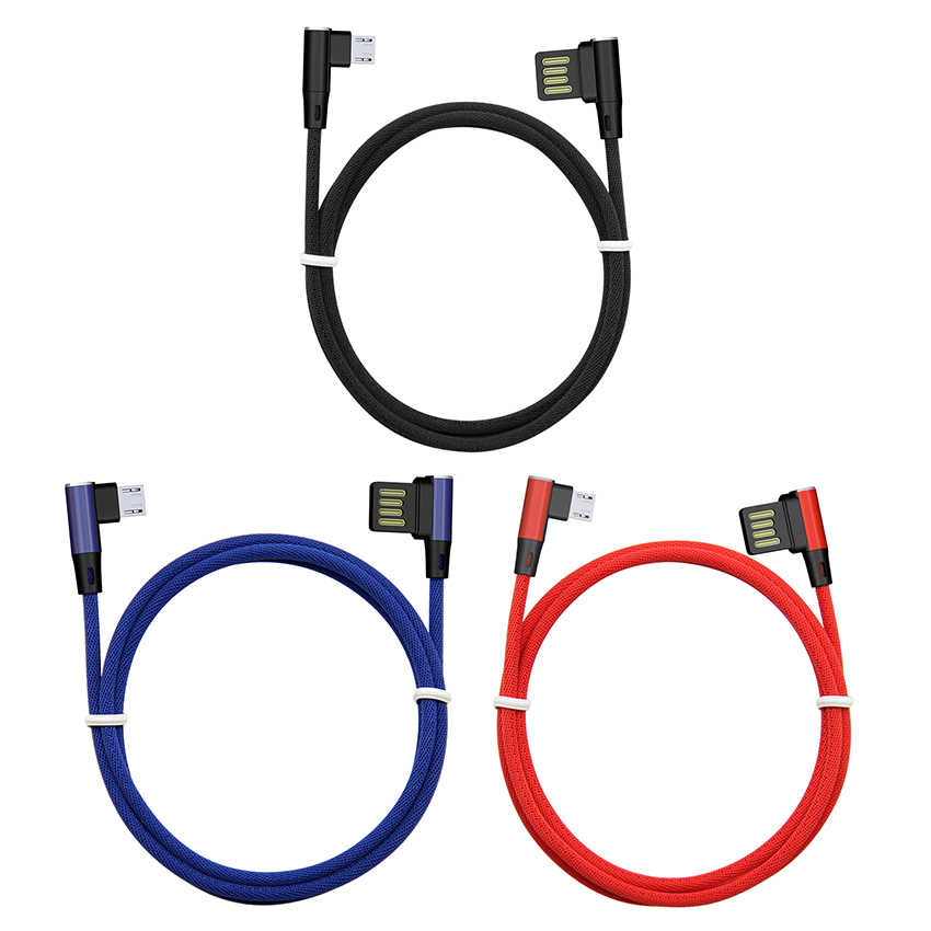 90 gradi Usb Cavi per Il Iphone Cavo del Caricatore del USB di Ricarica Veloce 8Pin Cavo Per IPhone X XS Max 8 7 6 più 6 s 5 5 s Se Ipad Cavo