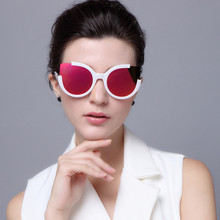 New Arrivals Cat Eye Design Sunglasses for Women Fashion Colorful Lens UV400 Glasses Free Shipping
