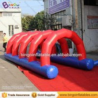 Customized 5X2X1.5 meters inflatable obstacle course / PVC inflatable obstacle game / adult inflatable obstacle course toys