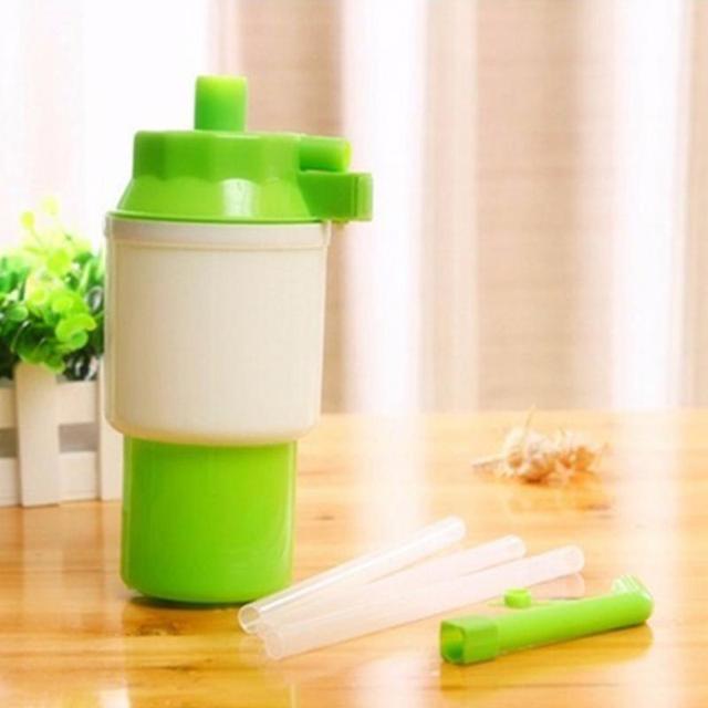 2018 Hot Selling Practical Bottled Drinking Water Hand Press Manual Pump Dispenser Green
