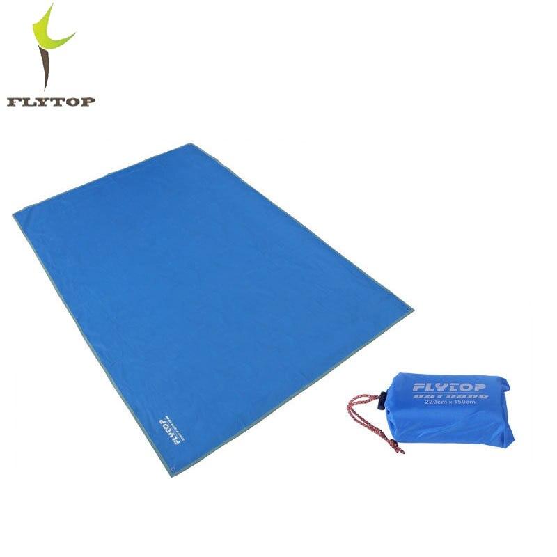 FLYTOP 220*150cm portable outdoor equipment beach mat Moisture proof picnic mat beach blanket camping mattress for tent