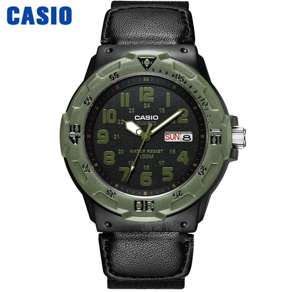 Casio watch Simple sports fashion leisure waterproof watch MRW-200HB-1B MRW-200HC-2B MRW-200HC-7B2 casio mrw 200h 4b