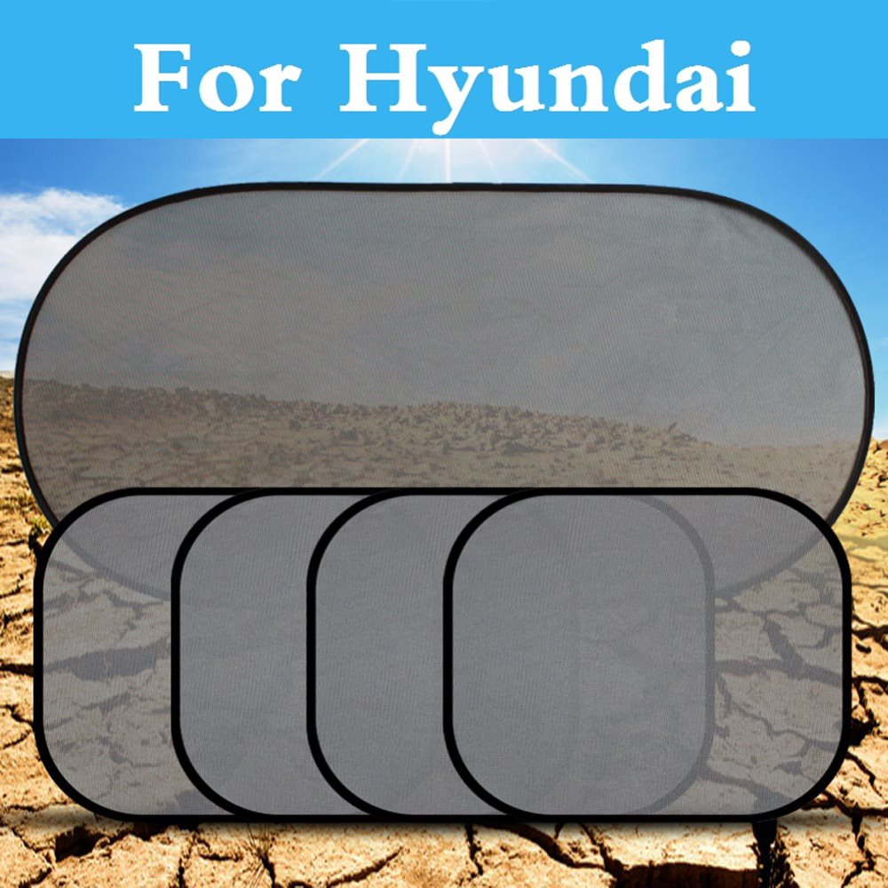 Visor-Screen Sunshade-Cover Hyundai Grandeur Car For Getz I10/I20/I30/.. Mesh Curtain-Side