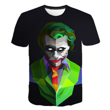Mens Clown Costume Funny 3D T-Shirt Themed Party Carnival Birthday Novelty Tee Top for Adult Man Halloween Cosplay Circus Tops