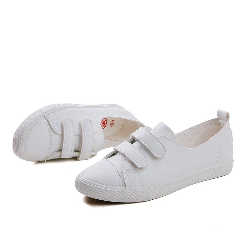 brand new 2cd7d 5b3fb en coser en goma loop Pisos mezclados tela zapatos respirable Hook blancos  de colores las zapatillas Zapatos mujeres zapatos moda ...