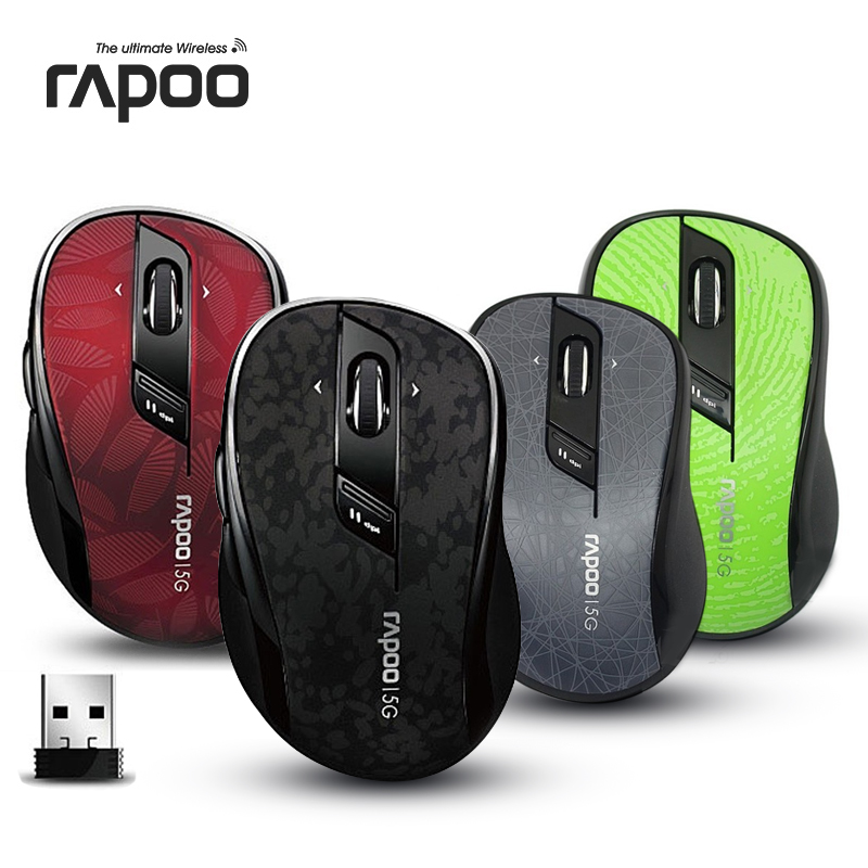 лучшая цена Free shipping 100% Original Rapoo 7100p 5g notebook wireless mouse