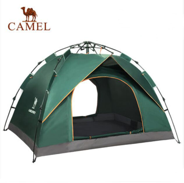 Camel Outdoor Tent for fully automatic double family 3 4 used camping tent Single layer outdoor camping tent