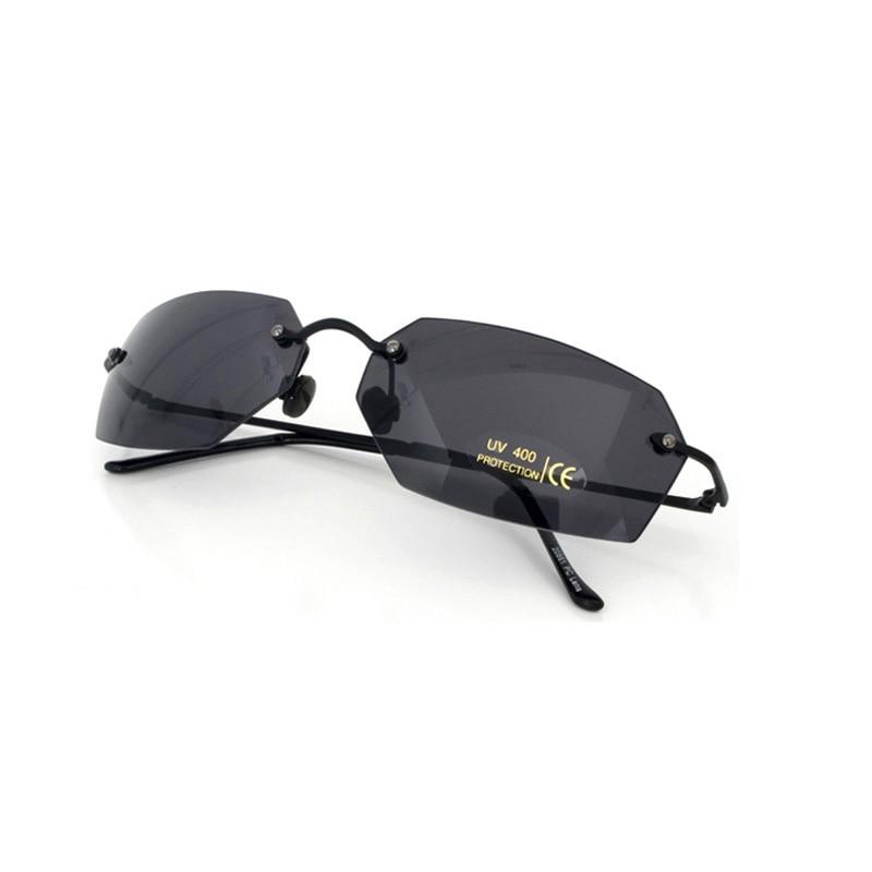 8c0b34b08d55a JN IMPRESSÃO Clássico Oval óculos Sem Aro Polarizada Filme Matrix Morpheus  Óculos De Sol óculos de sol Dos Homens UV400 oculos de sol em Óculos de sol  de ...