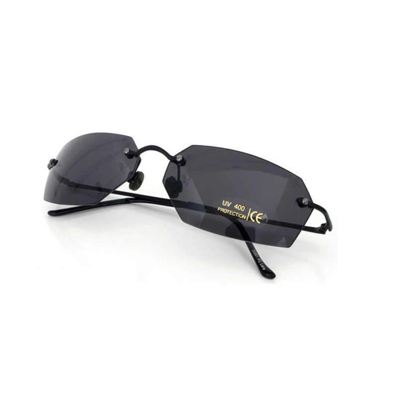 0d40c66d32 ... JN impresión polarizado sin montura Oval clásico gafas matriz Morfeo  gafas de sol película gafas de ...