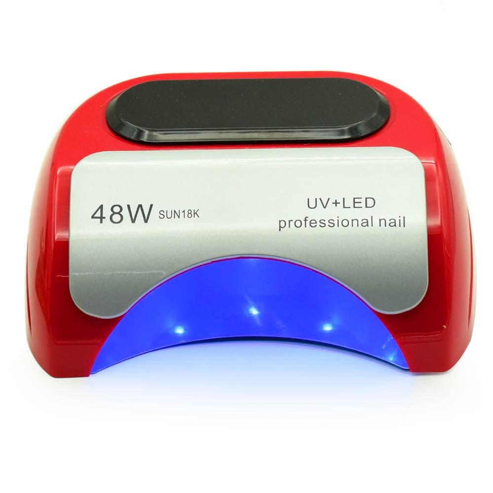 48W Nail Dryer Polish Machine UV Lamp LED Nail Lamp For Gel Nail Polish Art Automatic Hand Sensor manicure Nail Art Tools led nail dryer 48w lamp for manicure unique low heat mode nail gel dryer for nail polish art tools