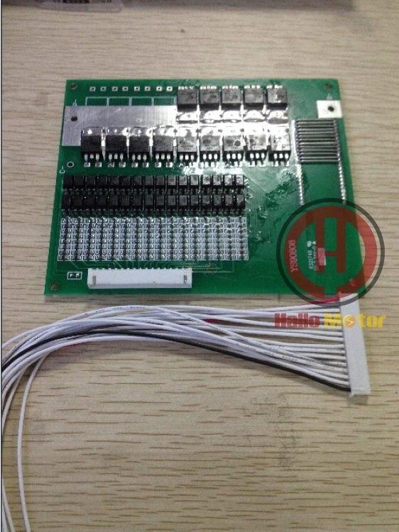 CONHISMOTOR 48 V LiFePO4 Batterie BMS Conseil (16 Série) 60A/120A pour Ebike Vélo Électrique Scooter Moto