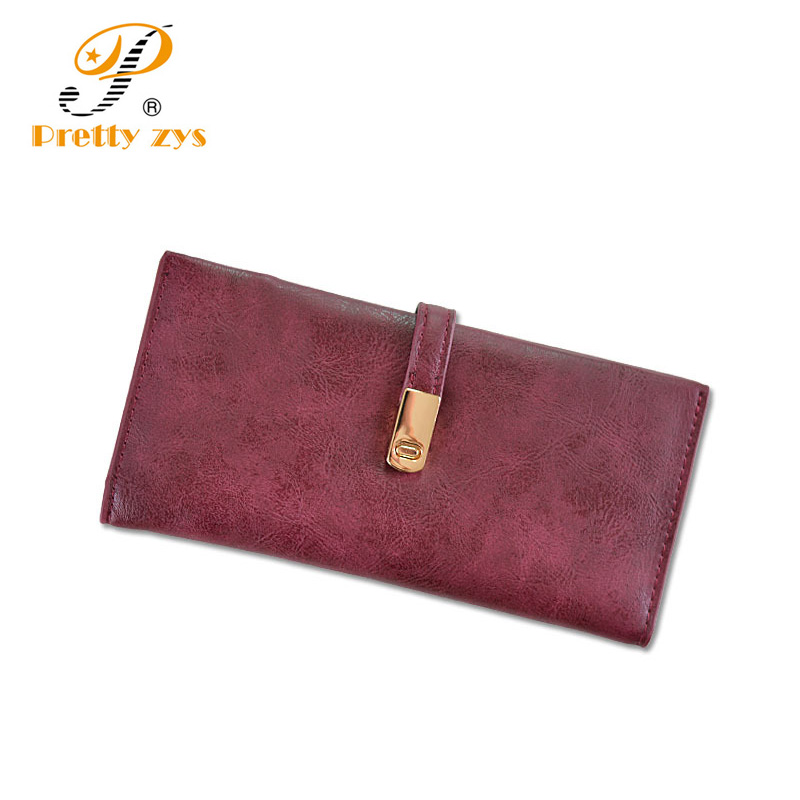 New Fashion Women Wallets High Quality Nubuck PU Leather Long Hasp Soft Purse Large Capacity Designer Slim Wallet Womens 2017 2016 new brand short women s wallet high quality guarantee designer s high heeled shoes hasp purse for lady free shipping