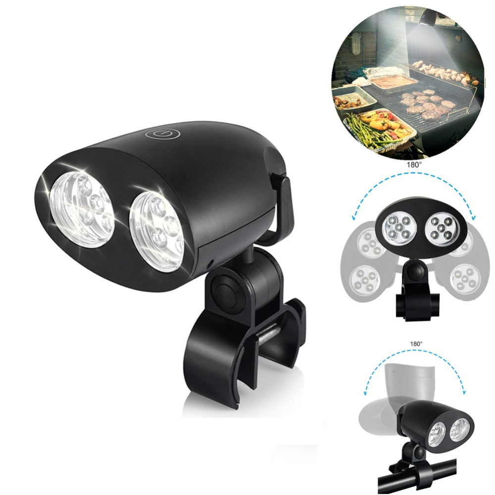 UARTER Hot Outdoor Night Light BBQ Touch Sensitive Switch Grill Light High quality 10 Bright LED Kitchen Barbecue Light