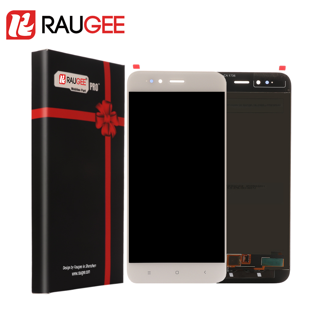Raugee For Xiaomi MiA1 Mi A1 Lcd Screen Display Digitizer With Touch Panel Replacement for Xiaomi Mi5X Mi 5X Repair Spare Parts