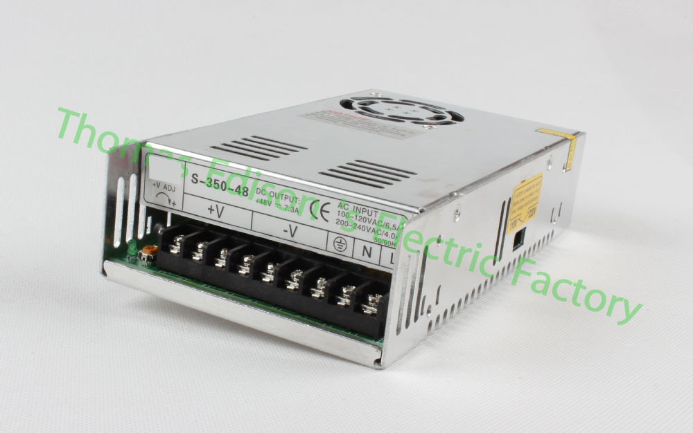 DIANQI led power supply switch 350W 48v 7.3A ac dc converter S-350w 48v variable dc voltage regulator S-350-48 стиральная машина узкая lg f12u1hbs4