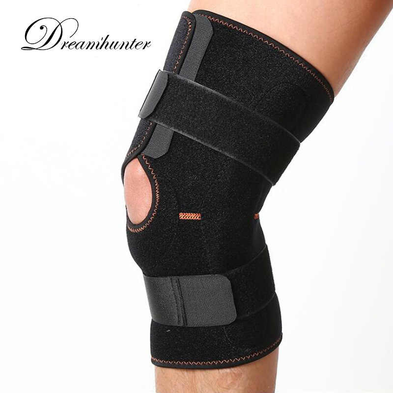 51fb227d81 Pro Sports Knee Pads Protectors Bandage Outdoor Running Hiking Patella Knee  Support Brace Kneecap Padded Protect