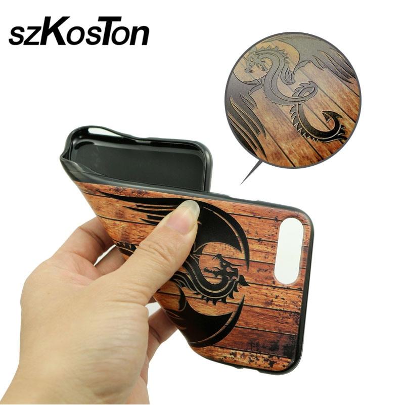 Mewah imitasi tinggi bambu kayu kasus telepon untuk iphone 5 5 s 6 6 - Aksesori dan suku cadang ponsel - Foto 3